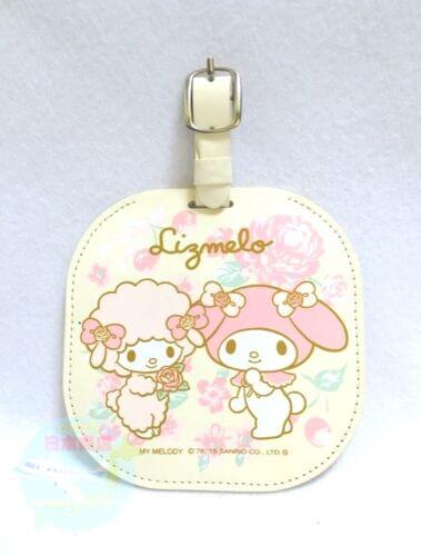 """SANRIO & LIZ LISA KAWAII My Melody  """"Lizmelo""""  Name Holder Tag Charm for Bag"""