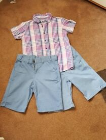 Boys shorts and shirt