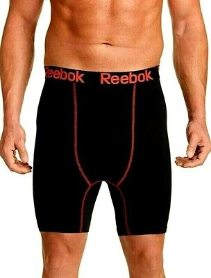 Reebok Mens Big and Tall Performance Training Workout Boxer Briefs Underwear Red - Big And Tall Boxer Briefs