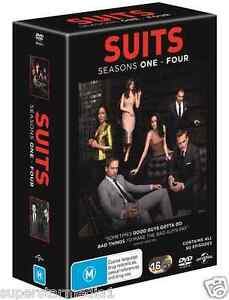 SUITS : COMPLETE Series : Seasons 1+2+3+4 : NEW DVD
