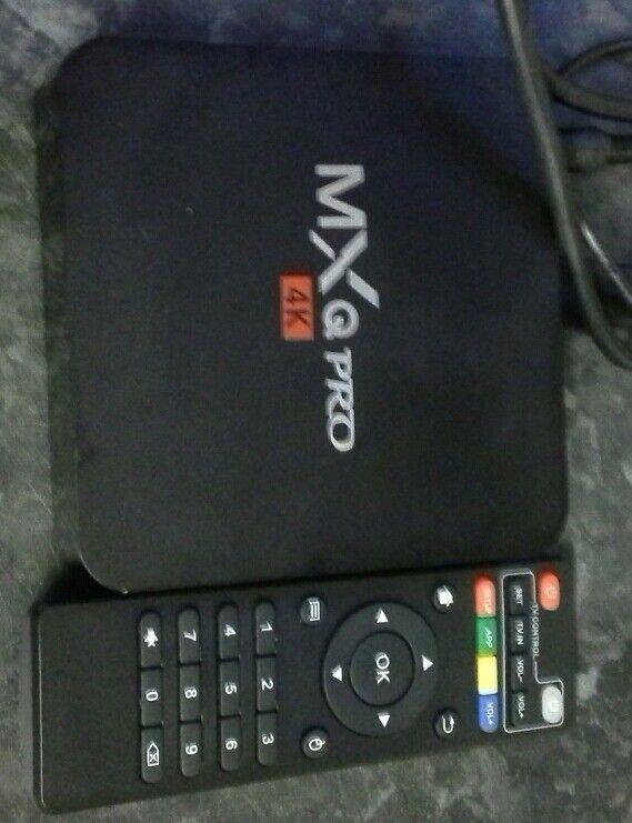 MX q set top box