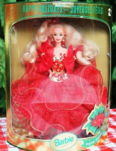 1993 Happy Holiday Barbie Doll Special Edition