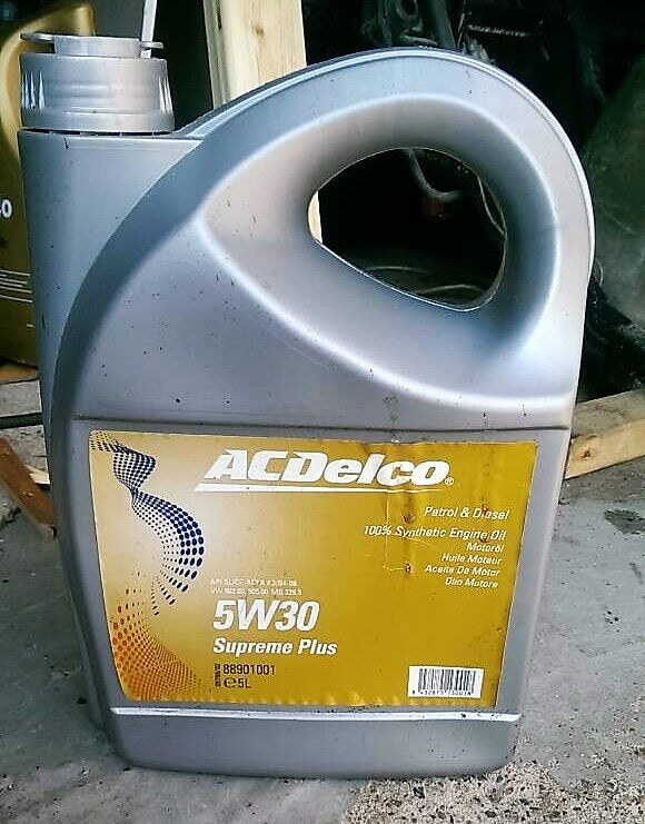 AC Delco 5w 30 Supreme Plus Engine Oil Fully Synthetic ACEA A3/B4-08 VW502/505