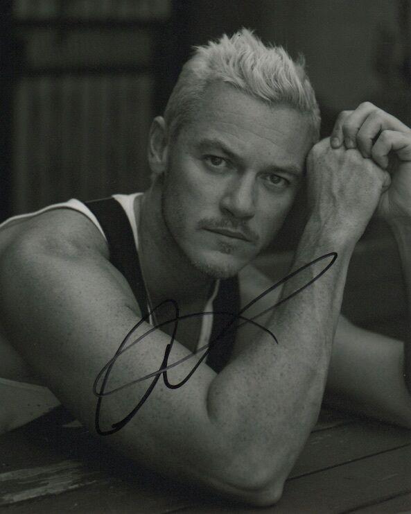 Luke Evans Beauty and the Beast Autographed Signed 8x10 Photo COA #8