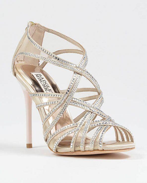 Description Beautiful Luxury Bridal Shoes
