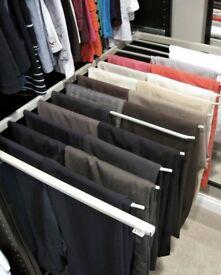 Ikea Pax storage wardrobe trouser rail pull out