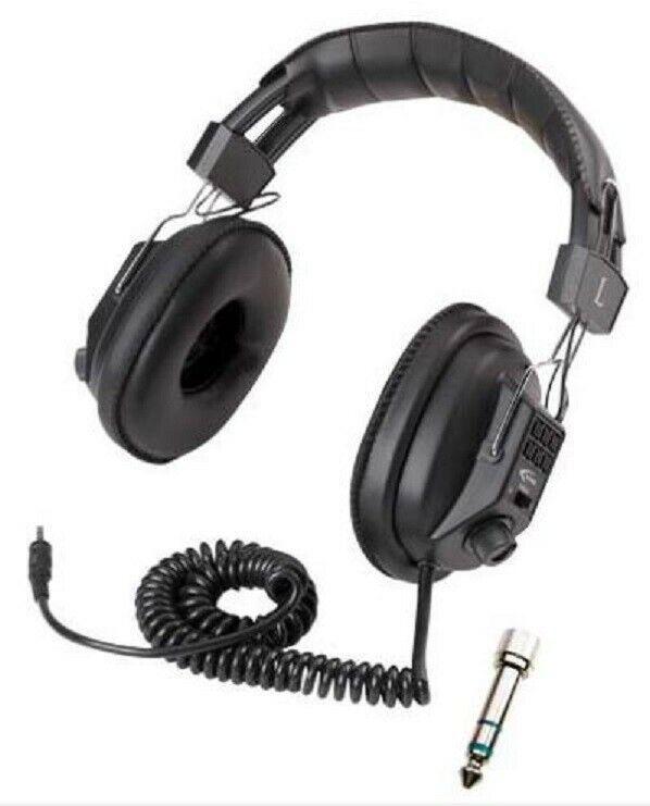 METAL DETECTOR HEADPHONES WITH VOLUME CONTROL - BOUNTY HUNTER - UNIVERSAL