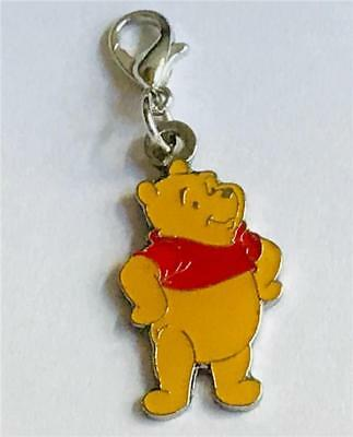 Disney Winnie the Pooh Bear Charm Zipper Pull Purse Tag Disn