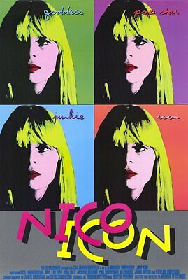 """NICO ICON Movie Poster [Licensed-NEW-USA] 27x40"""" Theater Size"""