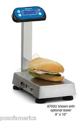 Brecknell 6702u Pos 15 Lbs 240 Oz Bench Scale Bakery Restaurant New