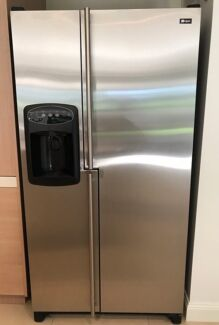 MAYTAG - 737L Stainless Steel Side by Side Refrigerator