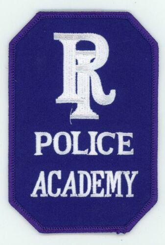 RHODE ISLAND RI POLICE ACADEMY NEW PATCH SHERIFF