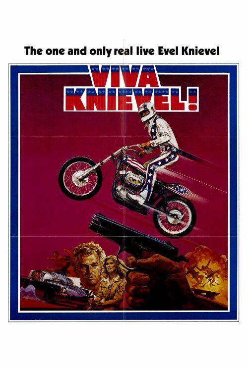 VIVA KNIEVEL Movie POSTER 27x40 B Evel Knievel