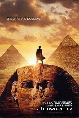 Jumper Movie Poster 27X40 Hayden Christensen Samuel L  Jackson Diane Lane Rachel