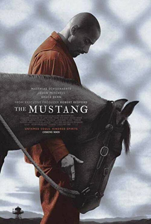 The Mustang Authentic 27X40 Double Sided Movie Poster