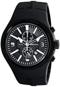 NEW MOMO Design Men's MD1009BK-06BKWT Mirage Swiss Watch