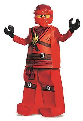Disguise Lego Ninjago Spinjitzu Kai Prestige Child Boys Halloween Costume 99084](Ninjago Halloween Costumes Kai)
