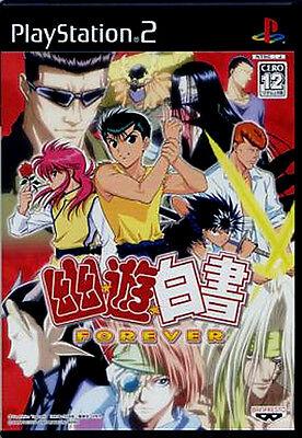 Used PS2 Yu Yu Hakusho FOREVER Import Japan