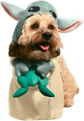 Rubies Star Wars The Mandalorian Baby Yoda Pets Hunde Halloween Kostüm 202306