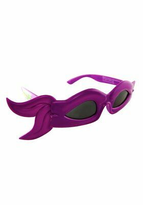 Tmnt Bandana (Party Costumes - Sun-Staches - TMNT Bandana Glasses Purple Mask Toys SG1946)