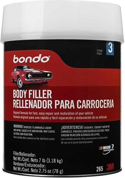 Bondo Body Filler 1 Gal Car Paint Body Paint & Fillers