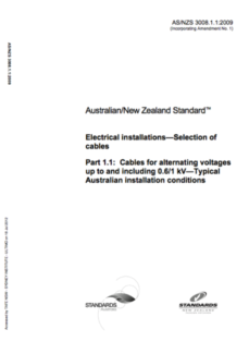 Australian electrical standards as3000 as3008 as3012 others asnzs 3008 fandeluxe Gallery