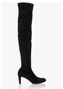 LOUBOUTIN boots, $1000