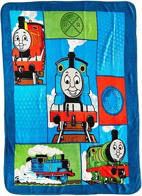 "New Thomas The Tank Engine Train Kids' Soft Plush Fleece Throw Blanket 50x60"""