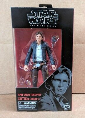 Star Wars the Black Series Han Solo (Bespin) Episode V #70 - MIB In Stock