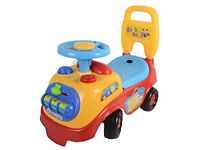 LIVIVO ® My First Ride On and Push Along Buggy Car Colourful First Steps Toddler Walker