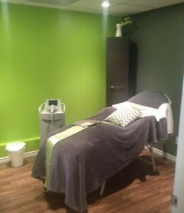 Massage therapy room for rent