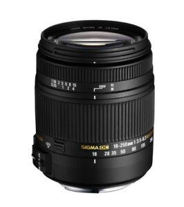 Sigma 18-250mm DC OS HSM for all Pentax Digital cameras DSLRS