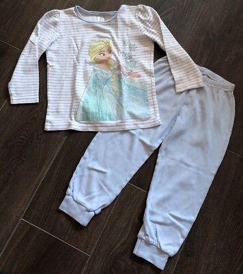 Mädchen Schlafanzug Zweiteiler (süßer Mädchen-Schlafanzug / Zweiteiler *Frozen - Eiskönigin*)