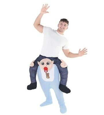 Adult Baby Piggyback with Self-Stuffable Legs Ride On - Halloween Adult Baby Kostüme