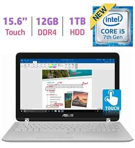 """New ASUS 15.6"""" 2-in-1 Touch FHD 1080p Laptop 12G RAM USB3.1"""