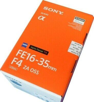 Sony SEL1635Z Vario-TessaT* FE 16-35mm F4 ZA OSS Lens