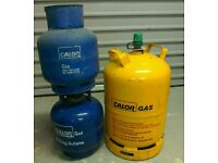 Butane gas cylinder (calor)
