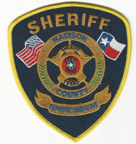 Madison County Sheriff  State Texas TX Police