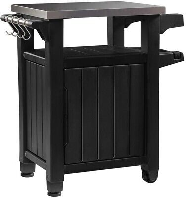 Keter Unity Indoor Outdoor BBQ Entertainment Storage Table/P