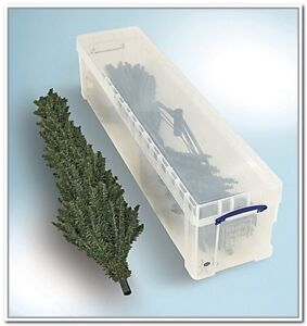 Christmas tree container
