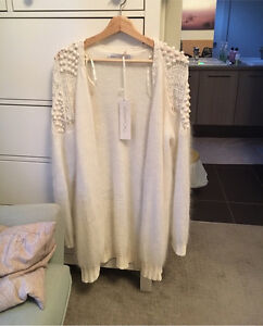Alice McCall sweater (white) size s/m