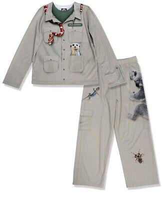 Brand New Boys/Girls Zookeeper Costume Pajama Set Kids Size XS ](Make Zoo Keeper Costume)