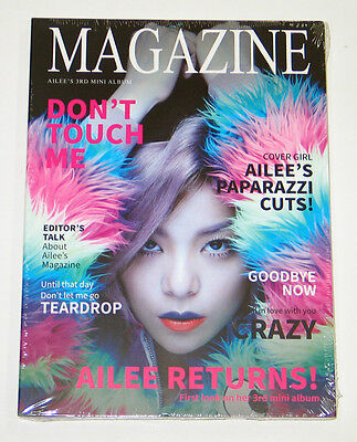 AILEE - Magazine (3rd Mini Album) CD KPOP K-POP