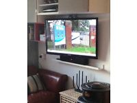 "Samsung PS43E490B1KXXU 43"" HD 3D Plasma TV"