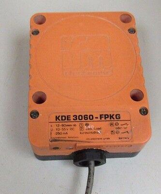 Ifm Efector Capacitive Proximity Switch Kde 3060-fpkg Kde3060fpkg 10-55v Dc