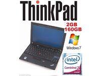 WINDOWS 7 Lenovo Thinkpad Tablet Laptop Core 2 Duo Warranty CHEAP WEBCAM