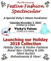 Vicky's Values 8th Annual Festive Fashion Spectacular!