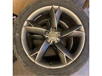 "Genuine original 19"" Audi twist wheels with tyres!"