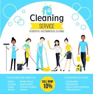 Residential and Commercial. House and Office Cleaners