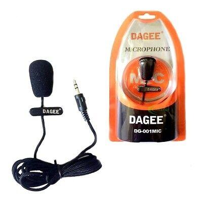 Mini micrófono de Solapa Jack 3.5mm PC móvil Skipe Video Cable de...